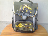 Ghiozdan scoala 7 -10 ani Schneiders - design Truck Crossing, Baiat, Rucsac