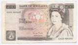 Marea Britanie 10 Pounds ND (1971/91) signature: G. M. Gill, ES23 480335, P-379e