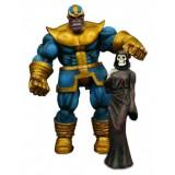 Marvel Select, Figurina articulata Thanos 18 cm (noiembrie)