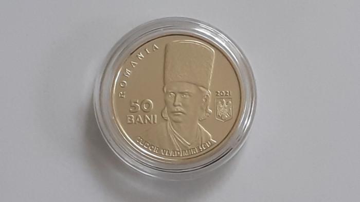 50 bani 2021 - 200 de ani de la Revoluția din 1821 condusă de Tudor Vladimirescu
