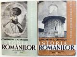 ISTORIA ROMANILOR , VOL. II ( PARTEA I SI a II a ) de CONSTANTIN C. GIURESCU , 1943,