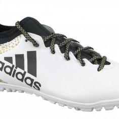 Cizme de fotbal gazon adidas X 16.3 TF AQ4352 pentru Barbati, 39 1/3, 42, 44, 44 2/3, 45 1/3, Alb