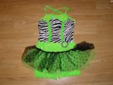 Costum carnaval serbare rochie dans balet pentru copii de 4-5-6 ani, Din imagine