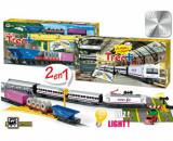Set constructie - Trenulet electric calatori si marfa, Renfe+, Pequetren