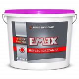 """Vopsea Lavabila Reflectorizanta """"EMEX"""", Alb, Bidon 15 Litri - Necesita perle reflectorizante"""