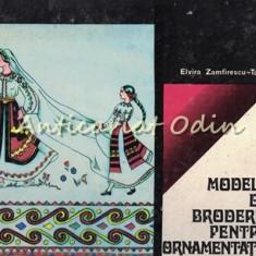Modele De Broderie Pentru Ornamentatie Interioara - Elvira Zamfirescu-Talianu