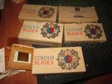 5 cutii cu diapozitive rusesti vechi pline x15