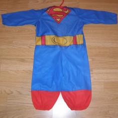 Costum carnaval serbare superman pentru copii de 9-12 luni, Din imagine