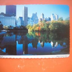 HOPCT 64122  CENTRal park- -NEW YORK -SUA - STAMPILOGRAFIE-CIRCULATA