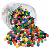 Cuburi multicolore (1cm), Learning Resources