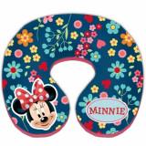 Perna suport pentru gat Minnie Mouse, roz