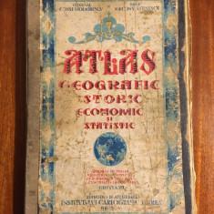 ATLAS GEOGRAFIC - G-ral C-tin Teodorescu și Profesor N. A. Constantinescu (1934)