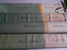 VIETI PARALELE VOL I,II,III SI IV(1,2,3 SI 4) - PLUTARH, PESTE 2300 P foto