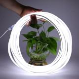 Furtun iluminat LED SMD, putere 25W, rola 5 m, alimentare retea, alb rece