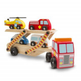 Transportor cu Vehicule de Urgenta, Melissa & Doug