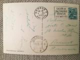 CP 1939. Geneva - București, Prof. Dr. Constantin Daniel, ginecologie Sp. Colțea