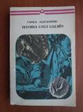 Vasile Alecsandri - Istoria unui galbîn (editie 1972)