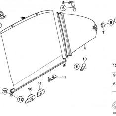 Distantier suport jaluzea usa Bmw Seria 5 E39 Sedan ; original 51168237530