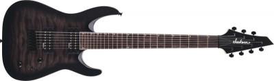 Chitara electrica Jackson JS22Q-7 DKA HT Transparent Black Burst foto