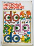 Tudor George - Dicționar de omonime și de familii de cuvinte (il. Done Stan)