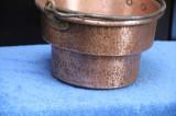 Ceaun cupru  5 Litri facut din material gros