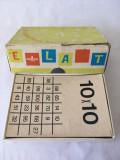 Joc vechi educativ, matematica, La tabellina facile, tabla inmultirii, Italia