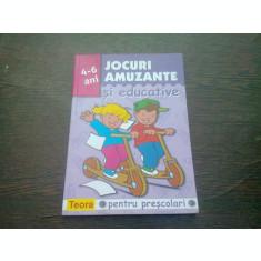 JOCURI AMUZANTE SI EDUCATIVE PENTRU PRESCOLARI