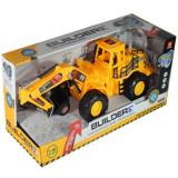 Tractor excavator - Builder cu lumini si sunete