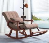 Fotoliu balansoar din lemn ,125X89X67 cm, textil impermeabil MARO