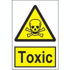 Indicator Toxic - Semn Protectia Muncii