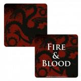 Suport pentru pahar - Game of Thrones (Targaryen) | Half Moon Bay