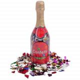 Cumpara ieftin Sticla sampanie cu confetti