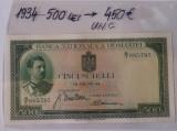 Bancnota 500 lei 1934 UNC