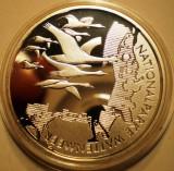 A.751 GERMANIA NATIONALPARKE WATTENMEER 10 EURO 2004 J PROOF ARGINT .925/18g