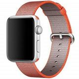 Curea pentru Apple Watch 38 mm iUni Woven Strap, Nylon, Red Velvet