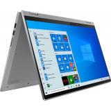 Ultrabook Lenovo 15.6'' IdeaPad Flex 5 15IIL05, UHD IPS Touch, Intel Core i5-1035G1, 8GB DDR4, 512GB SSD, GMA UHD, Win 10 Home, Platinum Gre