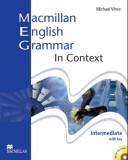 Macmillan English Grammar In Context Intermediate Pack with Key