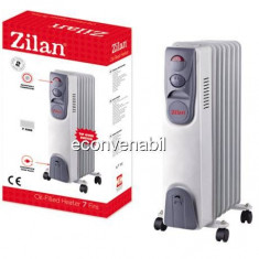 Calorifer Electric 7 Elementi Zilan ZLN2104 1500W