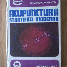 ACUPUNCTURA STIINTIFICA SI MODERNA, DUMITRESCU/cartonata
