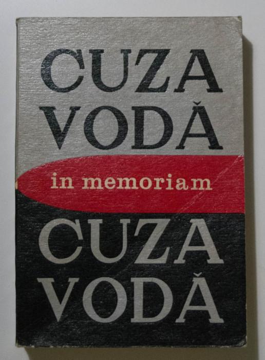 L. Boicu; Gh. Platon; Al. Zub (coord.) - Cuza Vodă in memoriam