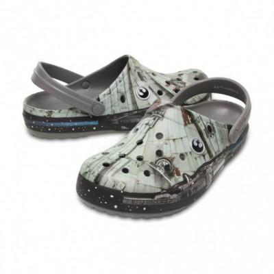 Saboți Adulti Unisex casual Crocs Crocband Millenium Falcon foto