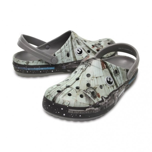 Saboți Adulti Unisex casual Crocs Crocband Millenium Falcon