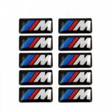 Cumpara ieftin Embleme silicon BMW M, set de 10 bucati