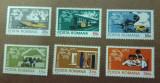 TIMBRE ROMANIA MNH LP847/1974 CENTENARUL U.P.U. SERIE SIMPLA, Nestampilat