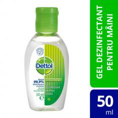 Gel Dezinfectant Dettol pentru maini, 50 ml