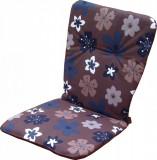 Perna pentru scaun EVO, acril, motive florale 90 x 44 x 3 cm