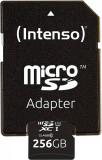 Card de memorie Intenso R45 Premium 256GB MicroSDXC Clasa 10 UHS-I U1 + Adaptor SD