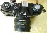 Vand aparat foto Zenit TTL cu blitz
