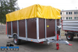 Cynkomet T 677 remorca pentru transportat animale