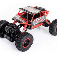 Masina NQD, 4WD Rock Crawler 1:18 2.4Ghz - Rosu